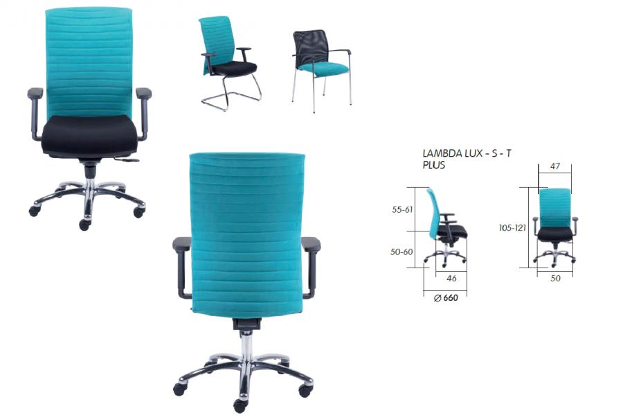 scaun managerial lambda lux s 2